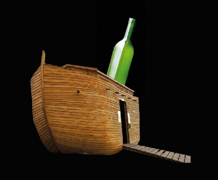 arca e bottiglia
