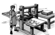 tipografia piccola bianco e nero