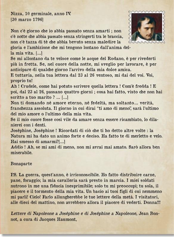 lettera napoleone
