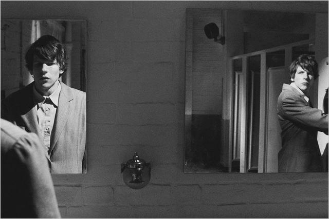 attore doppio allo specchio