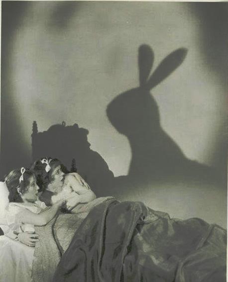 bimbe e coniglio