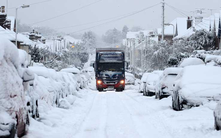 camion neve