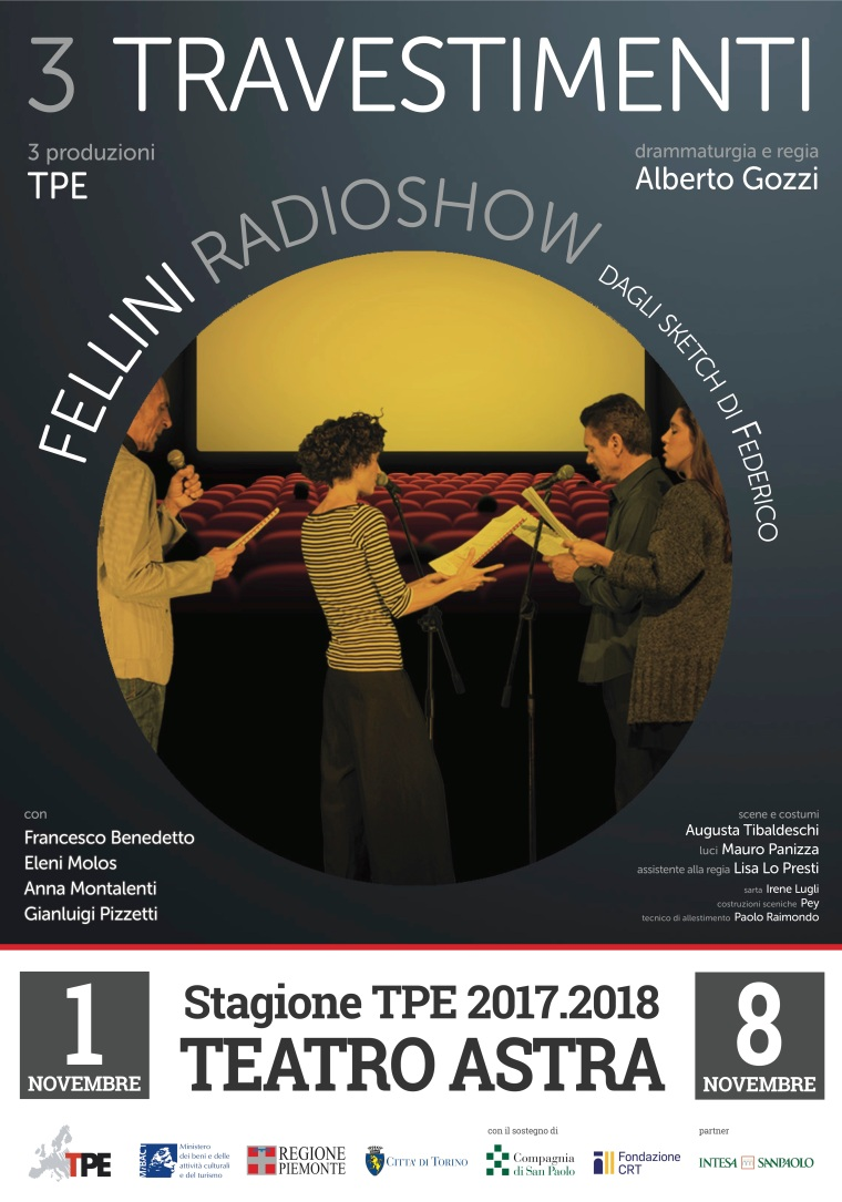 Copia di MANIFESTO 3 Travestimenti FELLINI